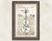 Cello Patent Art Giclee on archival matte paper