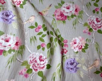 ENGLISH GARDEN fine linen fabric, especially suitable for beautiful drapery