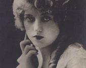 Gorgeous Marion Davies, Hollywood Film Star, G.B. Falci Card, circa 1920s