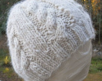 Icelandic Wool Cable Hat