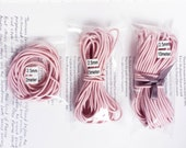 2.5mm Baby Pink Elastic Cord - Choose Your Length