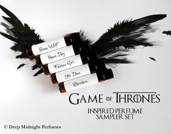 Game of Thrones inspired Perfume Sampler Set - perfume samples