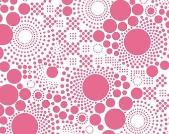 Basics Pop Hot Pink by RBD Designers for Riley Blake, 1/2 yard