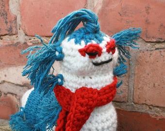 Ello Worm Labyrinth Crochet Pattern