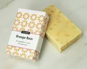 Orange Rain All Vegetable Oil Soap