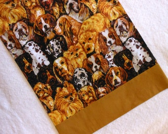 Pillowcase Travel Size Dogs Dogs Dogs
