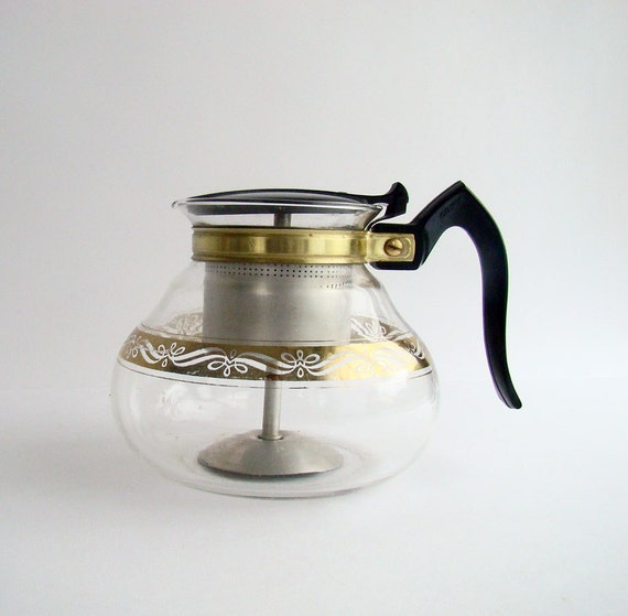 Modern Glass Coffee Maker : 1950s Cory Coffee Brewer 8 Cup Glass Coffee by AboutThePlace