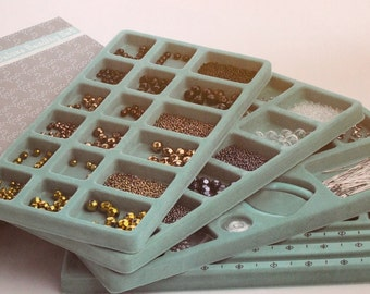 QVCBead kit Professional Metallic Glass Beads 5000up QVC was 49.95