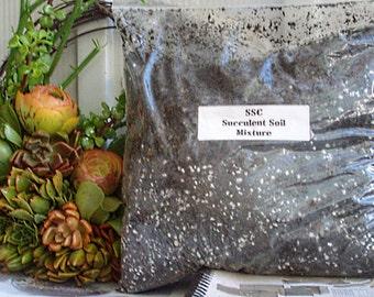 Succulent Plant Soil Mixture