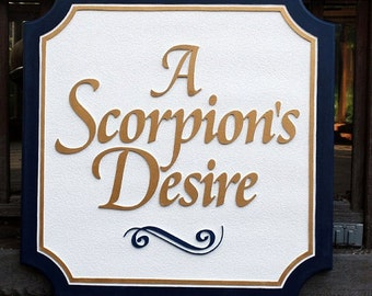 Custom Personal Name Sign