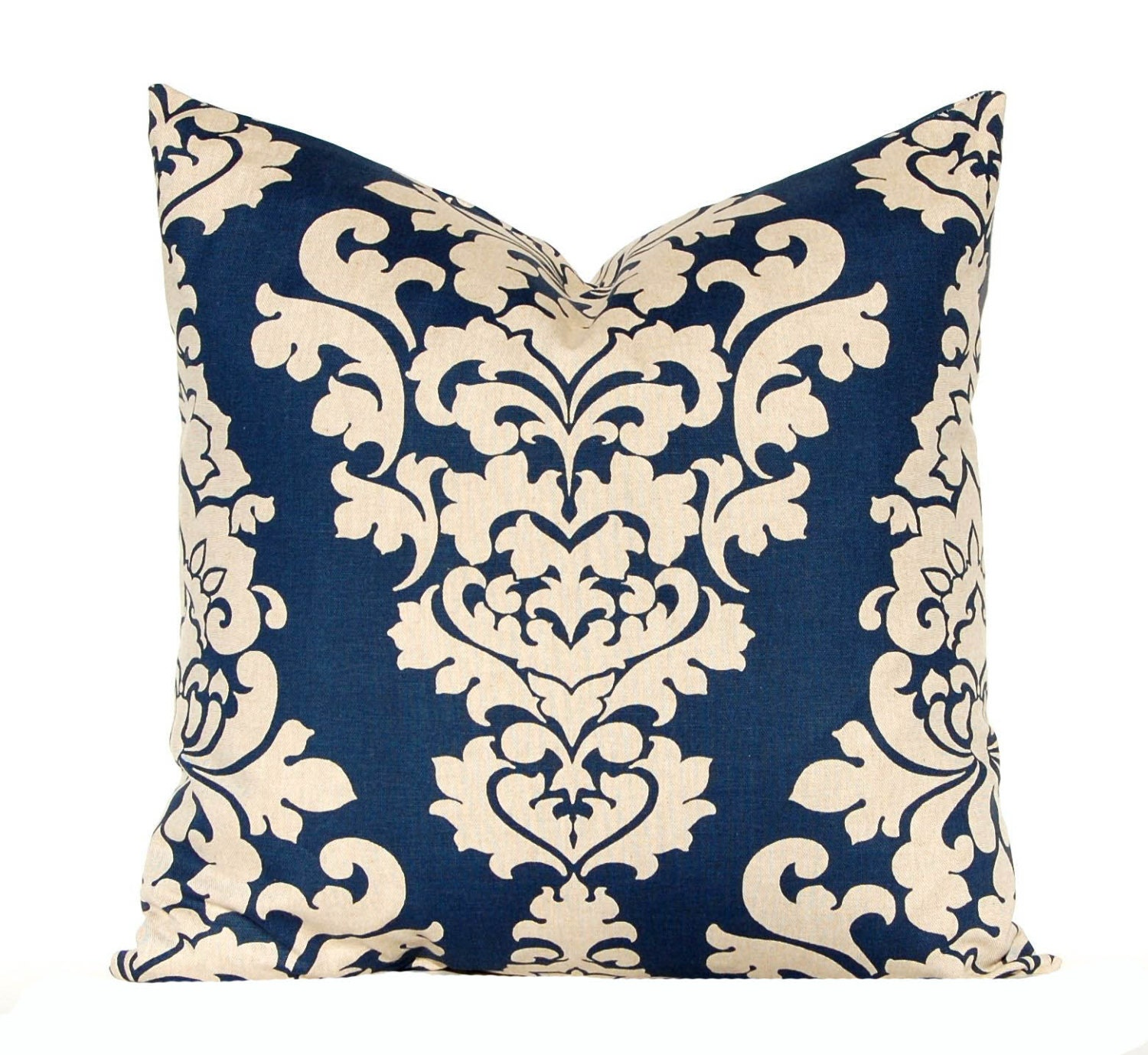 Navy Blue Decorative Pillow Covers : Navy Blue Pillow Covers Linen Pillows by CompanyTwentySix on Etsy