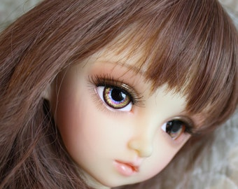 BJD eyes Doll eyes Hand made available in 12/14/16/18/20/22/24mm Gingerbread Girl made to order