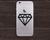 Diamond Vinyl iPhone Decal BAS-0271