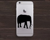 Elephant Vinyl iPhone Decal BAS-0291