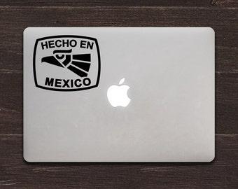 Hecho en Mexico Vinyl MacBook Decal BAS-0147