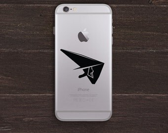 Hang Glider Vinyl iPhone Decal BAS-0274
