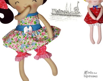 Doll Bloomers & Panties Sewing Pattern Cute and Easy