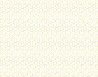 Fabric by the yard, White Dottos, Adornit cotton fabric