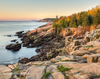 Maine Coastal Photograph - Acadia National Park