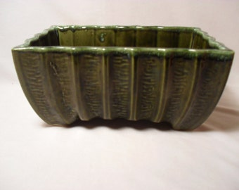 CP-3808 USA Forest Green Pottery Planter