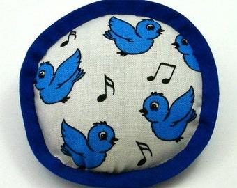 Cat Toy Birds, Catnip Toys, Birdsong Cat Toys, Bluebird Pillow, Bird Pillows, Bluebird Cat Toy, Cartoon Birds  BLUE BIRD of HAPPINESS