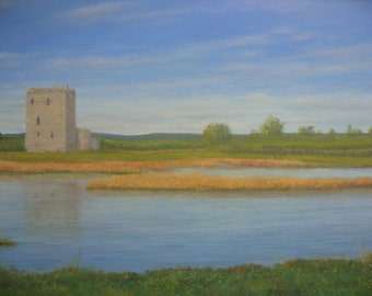 Threave Castle.......Dumfries and Galloway...original oil painting