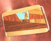 Boyfriend Gift,  Modern Tapered Design Belt Buckle for Mens Gift, Groomsman Gift Idea BB62