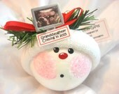 Ultrasound Sonogram Ornament Christmas Townsend Custom Gifts Photo Handmade Name Year Tag Sample