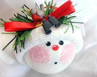 Bird Watcher Ornament Binoculars Christmas Townsend Custom Gifts
