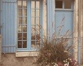 FRENCH Window in BEAUGENCY FRANCE Fine Art Photography, scenic, nature, landscape, Europe, European