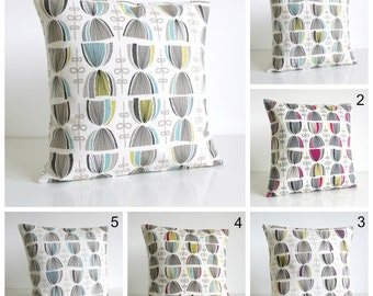 Decorative Cushion Cover, 16x16 Pillow Cover, 16 Inch Pillow Sham - Hourglass