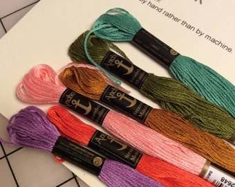 Embroidery Floss Bundle - No.1