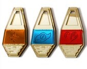 Digimon Tags Crests Set of 9