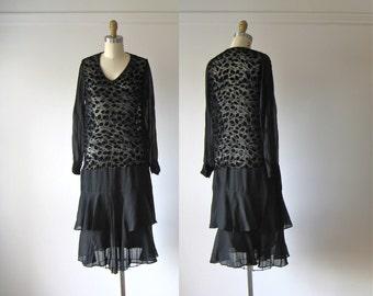 vintage 1920s flapper dress / 20s dress / Ain't We Got Fun