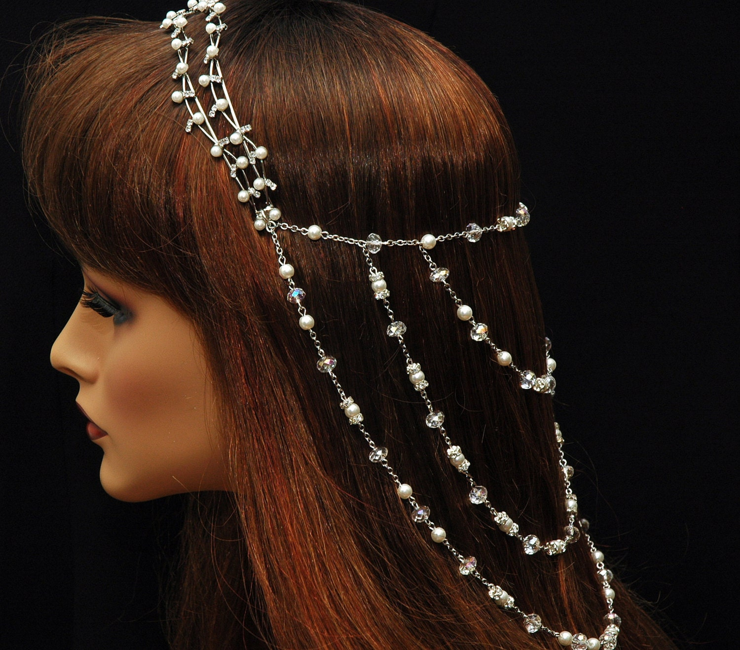 how to put hair jewelry on
