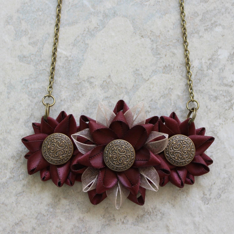 burgundy necklace burgundy jewelry burgundy wedding jewelry