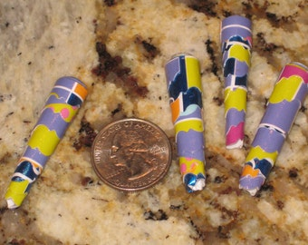 Special Cut Cone Paper Beads