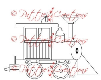 Circus Train Engine