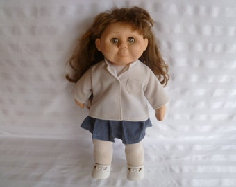 """Vintage 1986 Collectable Wanna Be Doll 18"""""""
