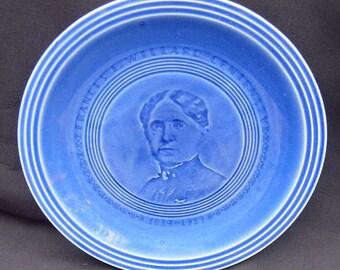 Frances E. Willard 1939 Plate ~ Historical!