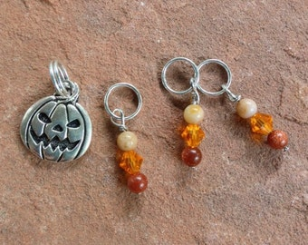 Sky Kitty Stitch Markers For Knitting