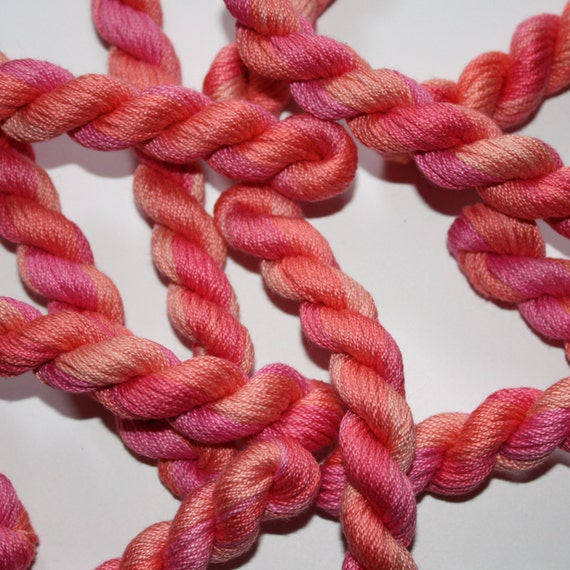 Embroidery Thread Stranded Cotton Floss Hand Dyed