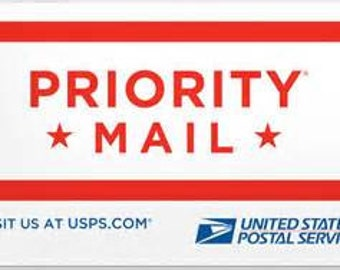 PRIORITY MAIL shipping to any state in the US