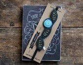Embroidered Bookmark, Planner Accessories, Planner Band, Booklover Gift, Bookclub Gift, Teacher Gift