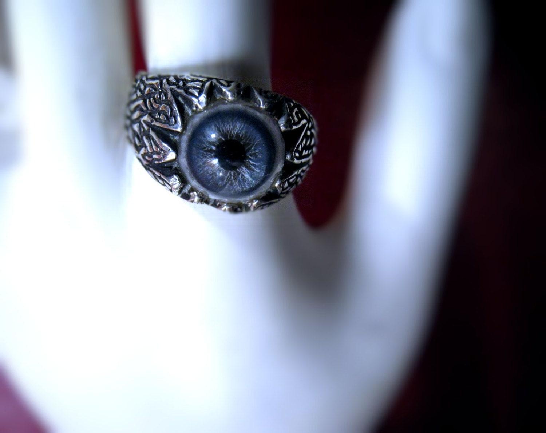 the evil eye ring sterling silver