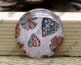 10mm,12mm,14mm,16mm,18mm,20mm,25mm,30mm Round Flower Photo Glass Cabochons ,Flower glass finding beads,Photo Glass Cabochons--10