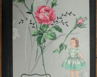 Altered Vintage Journal Great Gift Item