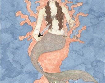 Balance Original Mermaid painting