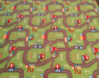 Tons of Trucks Fleece Blanket
