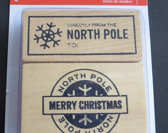Back In Stock & Going Fast! - Pebbles -  North Pole Stamps